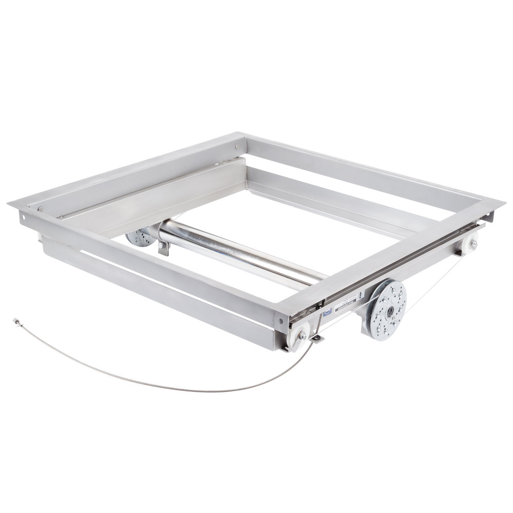 "APW Wyott DI-1216 12"" x 16"" Drop-In Tray Lowerator Dispenser"