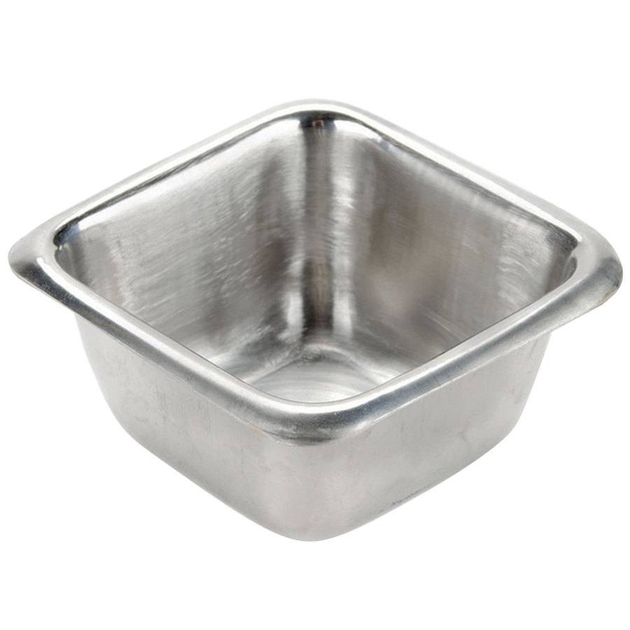American Metalcraft Ssc25 2 5 Oz Stainless Steel Square