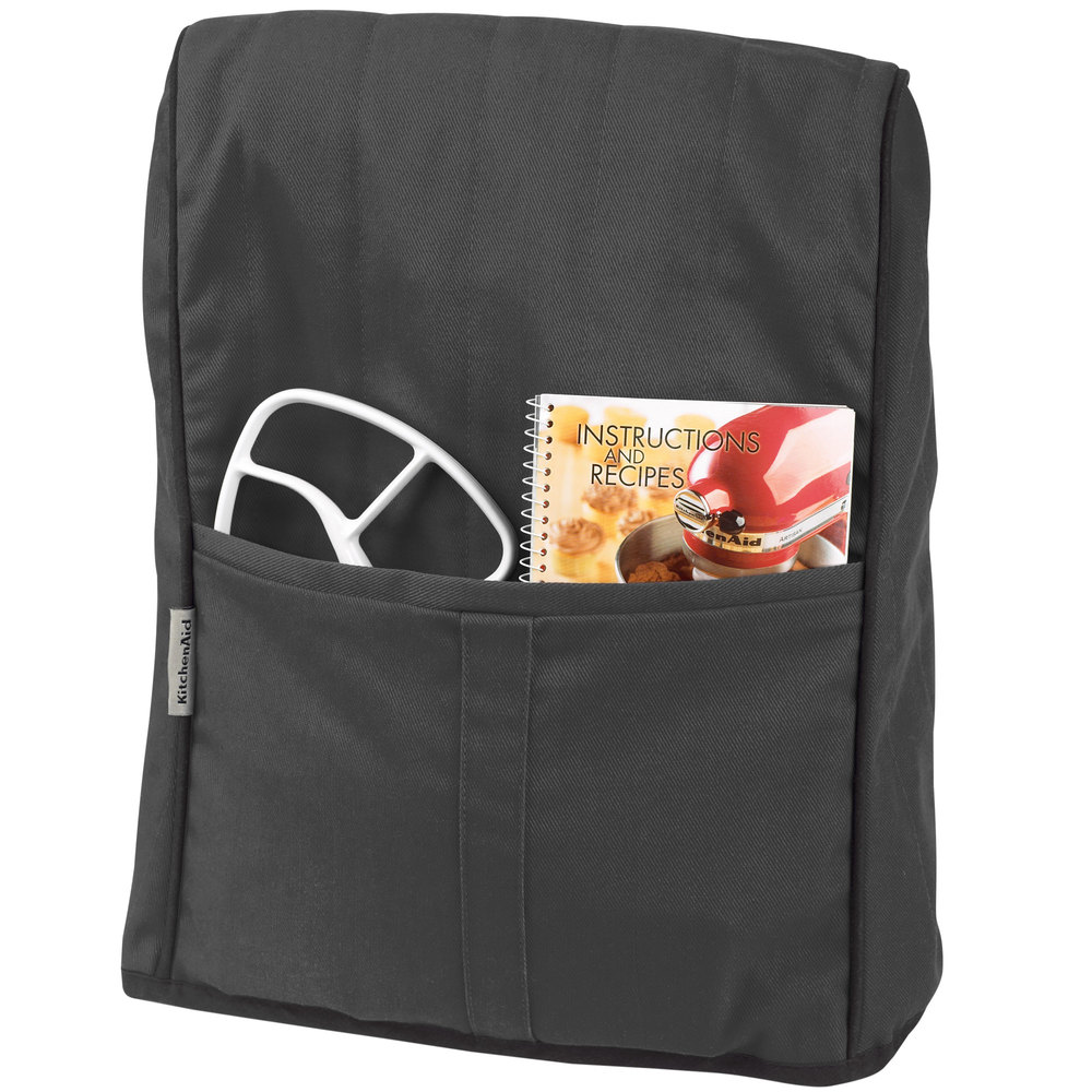 Kitchenaid Kmcc1ob Onyx Black Quilted Cover For Kitchenaid