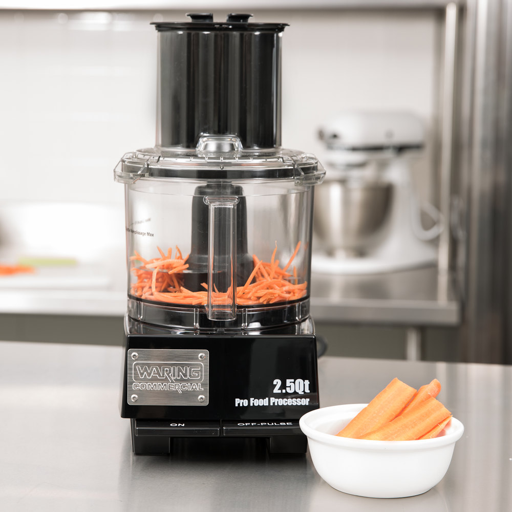 Commercial Food Processor ~ Waring fpc commercial food processor with qt bowl