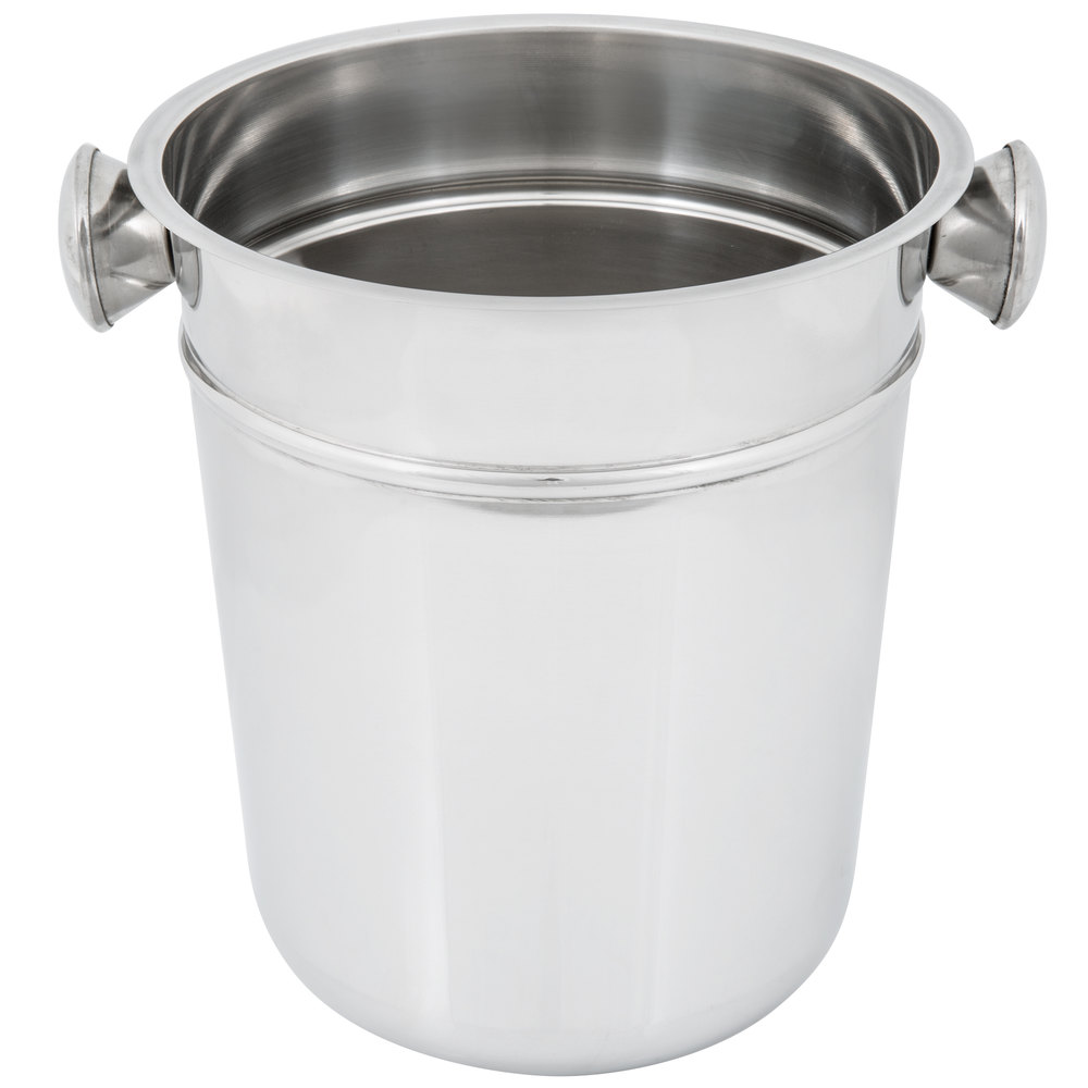 9 Quot Stainless Steel Wine Champagne Bucket 8 Qt