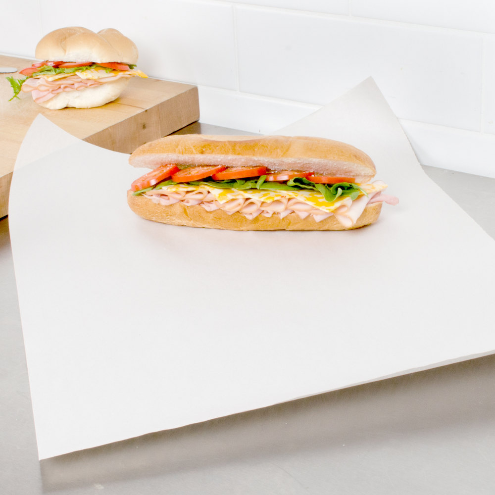 sandwich wrap paper How to wrap a sandwich in wax paper how to use wax paper to wrap a sandwich for your lunch this method may not be the way grandma or the deli does it.