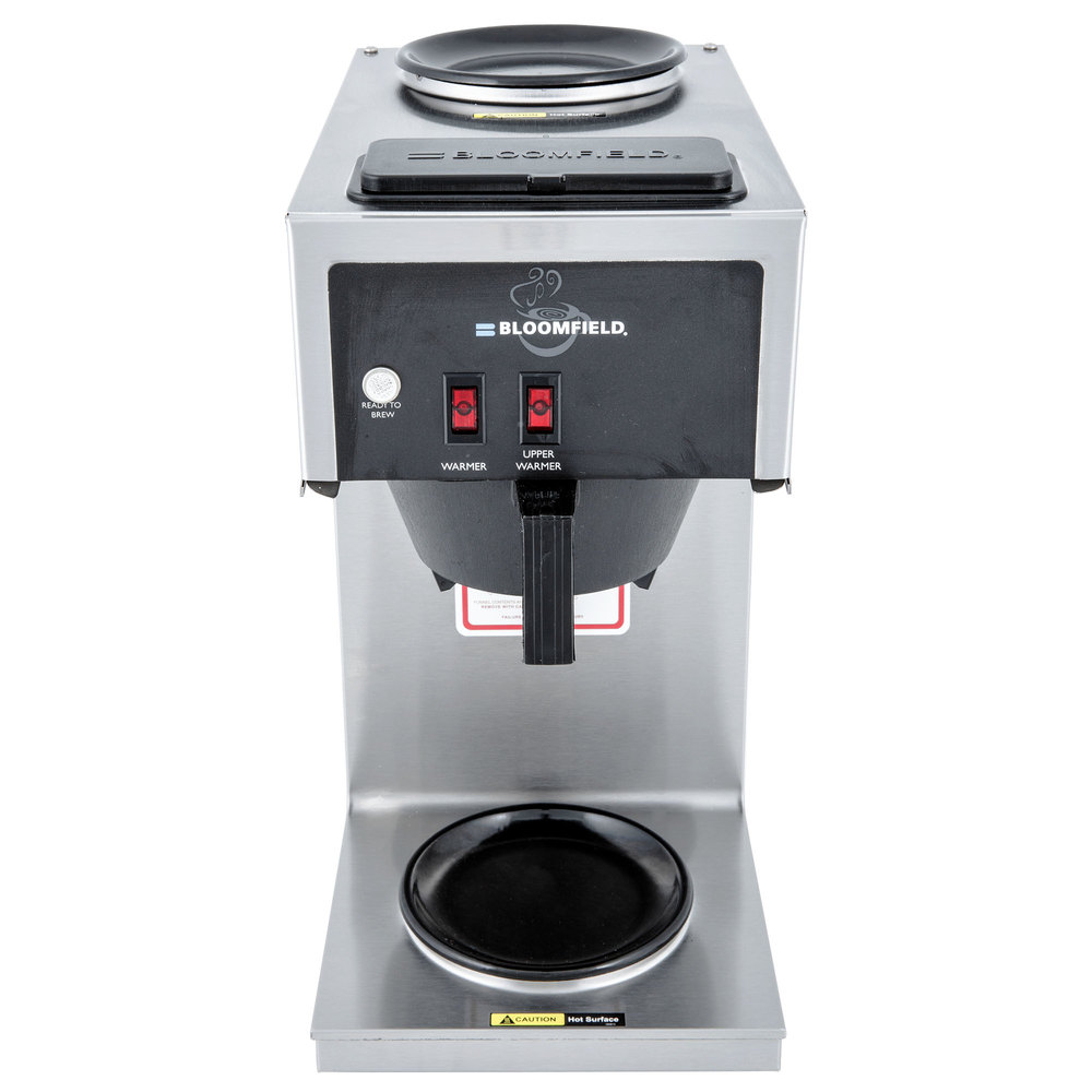 Bloomfield 8543-D2-120C Koffee King 2 Warmer In-Line Pourover Coffee Brewer, 120V; 1500W (Canadian Use Only)