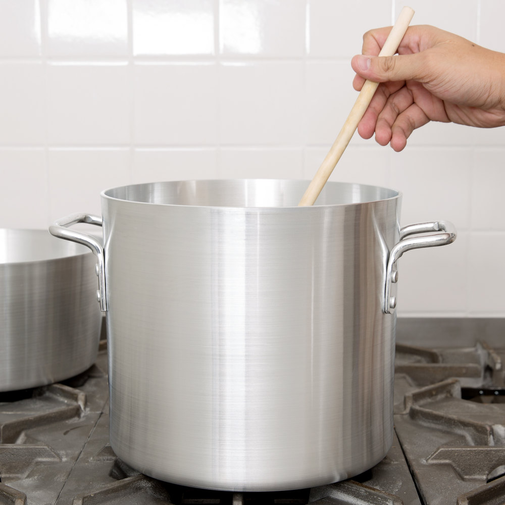 Vollrath 7303 Arkadia 12 Qt. Aluminum Stock Pot