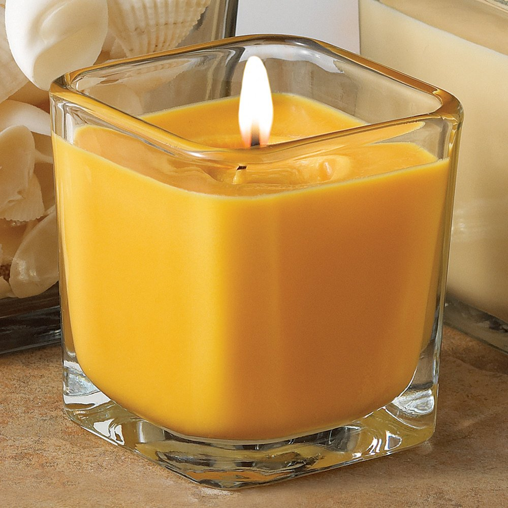 Libbey 5474 7.5 oz. Cube Votive Candle Holder - 12 / Case