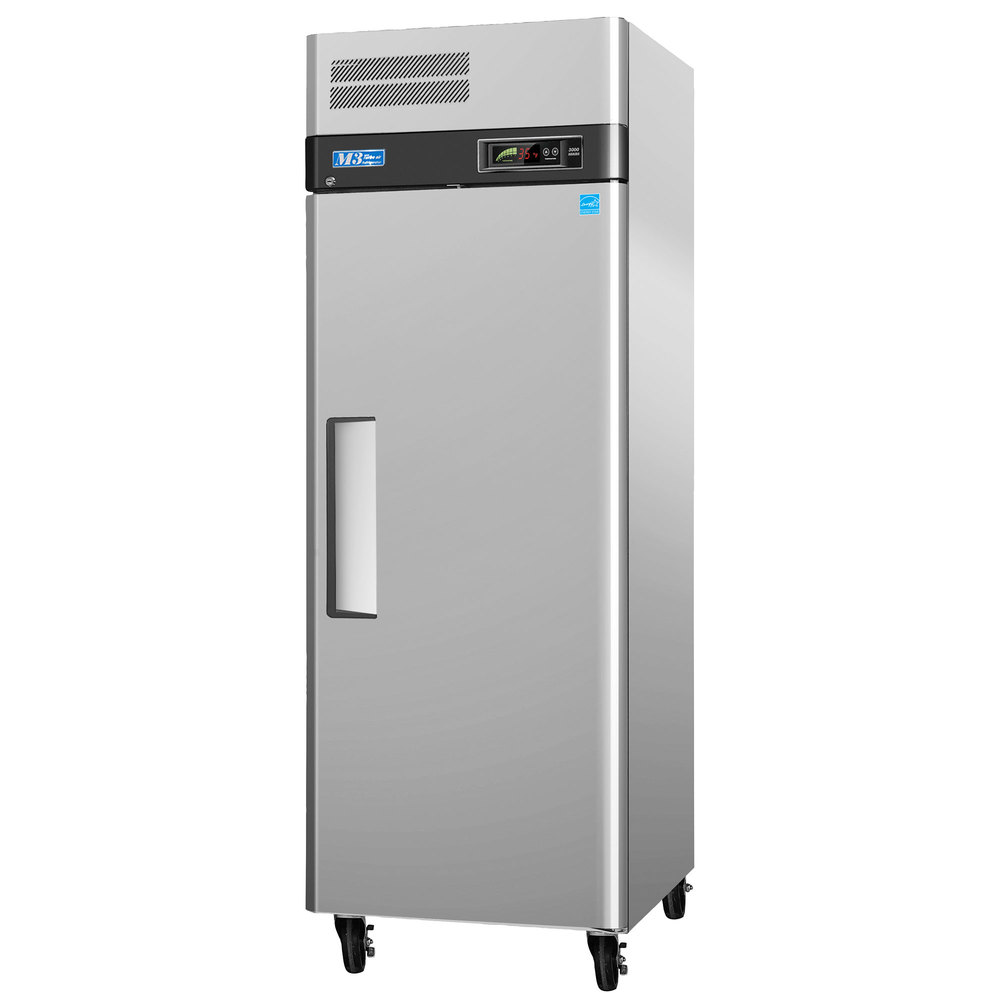 "Turbo Air M3F24-1 29"" M3 Series One Section Solid Door Reach in Freezer - 24 cu. ft."