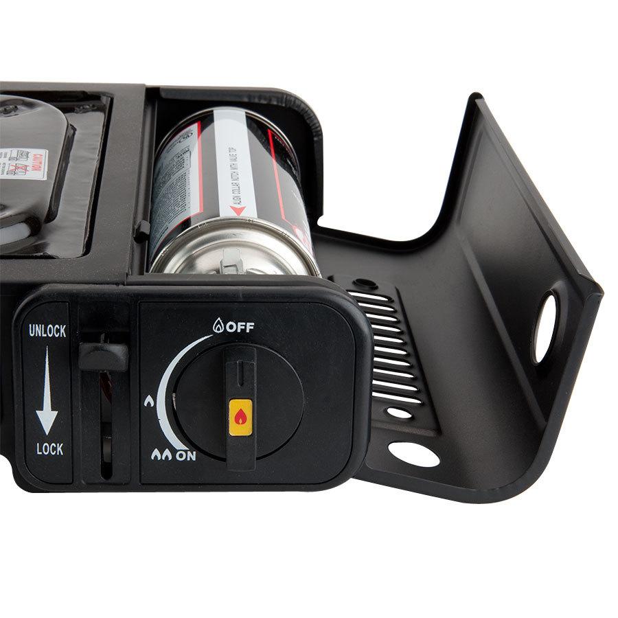 Gas Countertop Stove Reviews : Burner Butane Countertop Range / Portable Stove with Brass Burner