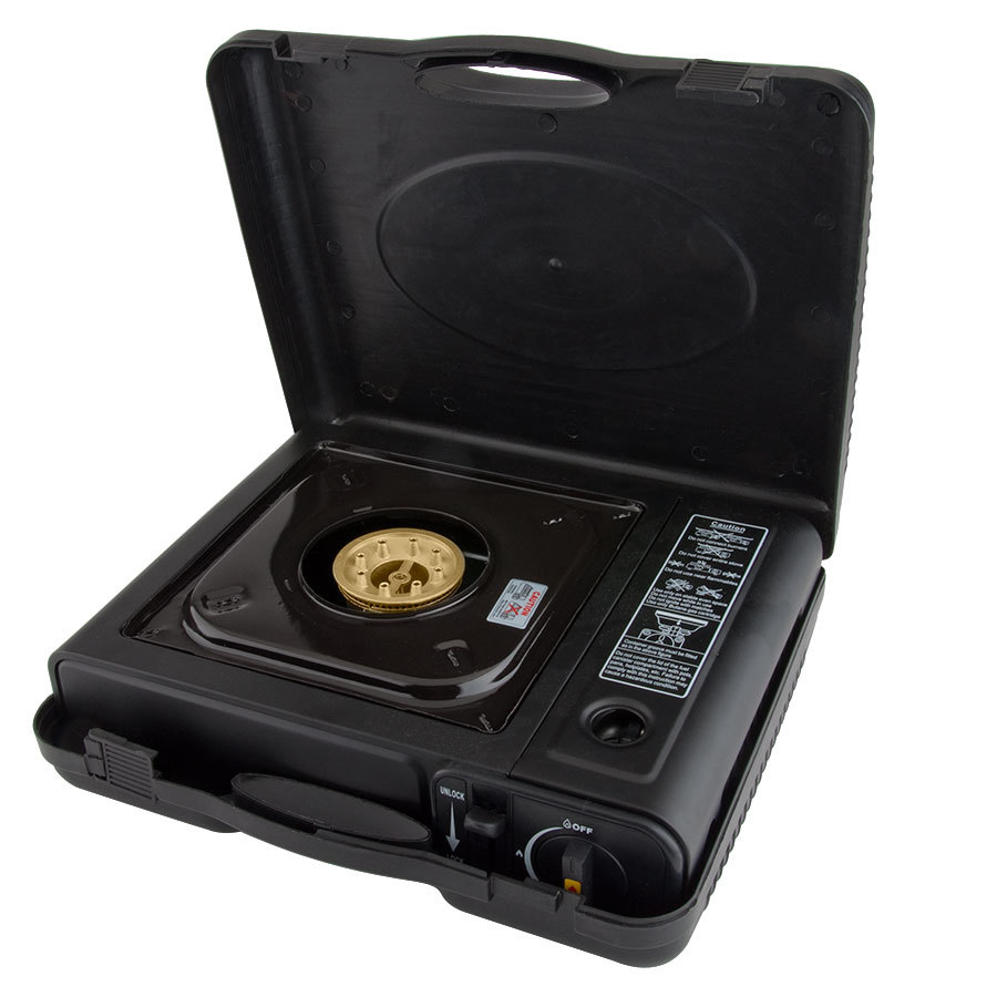 Countertop Stove Burners : Burner Butane Countertop Range / Portable Stove with Brass Burner