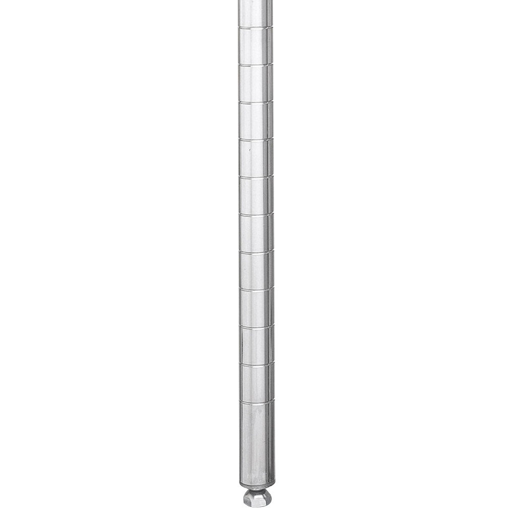 "Metro 27PS Stationary Super Erecta SiteSelect 27"" Stainless Steel Post"