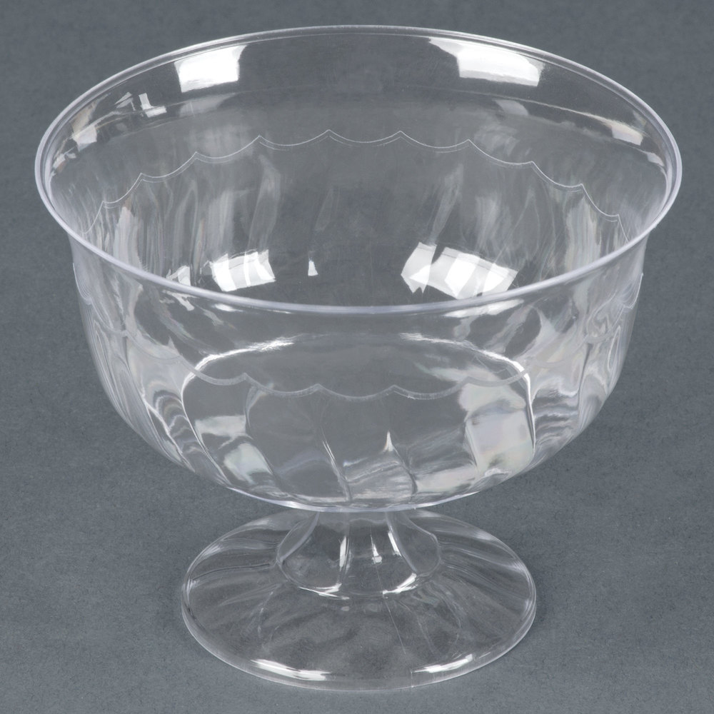 Top Clear Plastic Cup : Fineline flairware clear oz one piece plastic