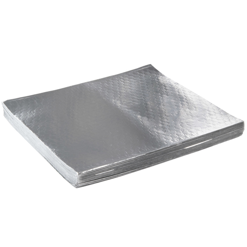 "Choice 14"" x 16"" Insulated Foil Sandwich Wrap Sheets ..."