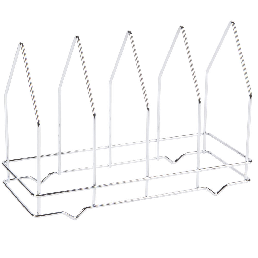 Four-Slot Pizza Screen Rack