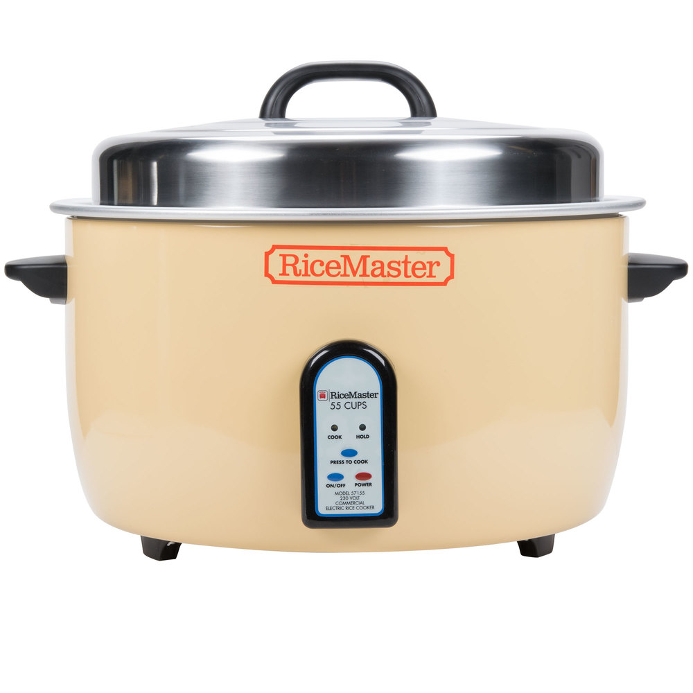 Town 57155 55 Cup Electronic Rice Cooker / Warmer - 230V