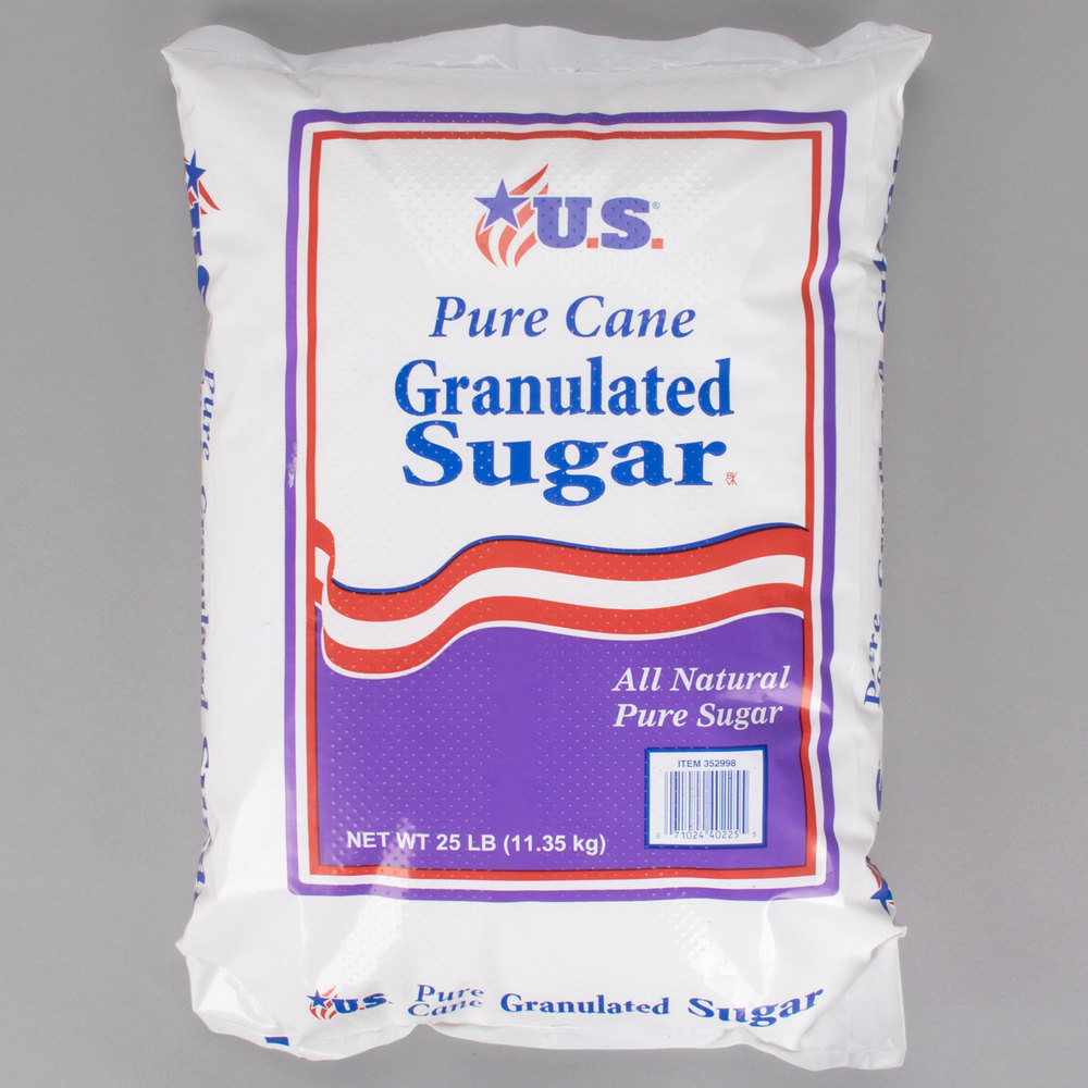 Granulated Sugar 25 Lb