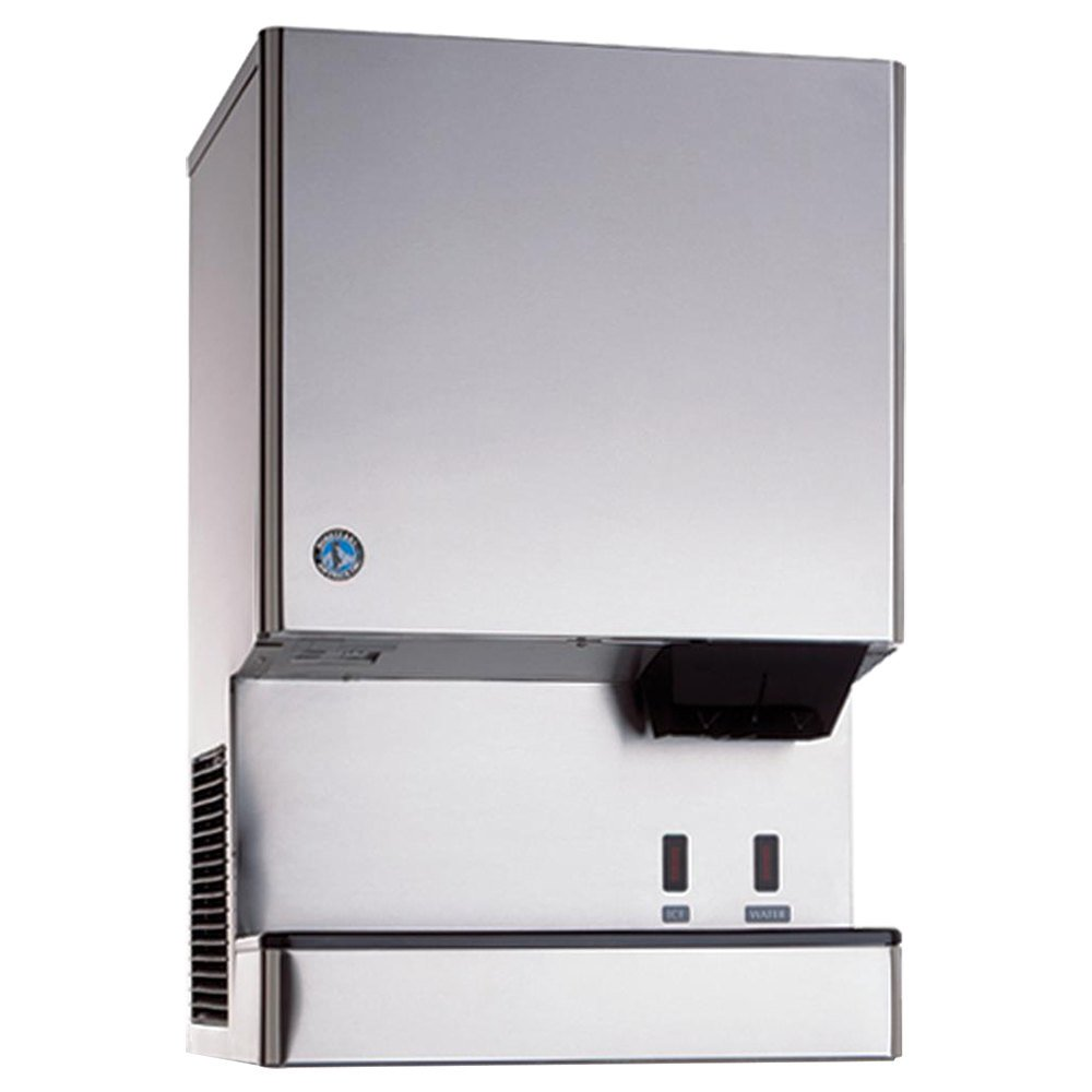 Hoshizaki DCM-500BAH-OS Opti-Serve Countertop Ice Maker and Water Dispenser - 40 lb. Storage Air Cooled
