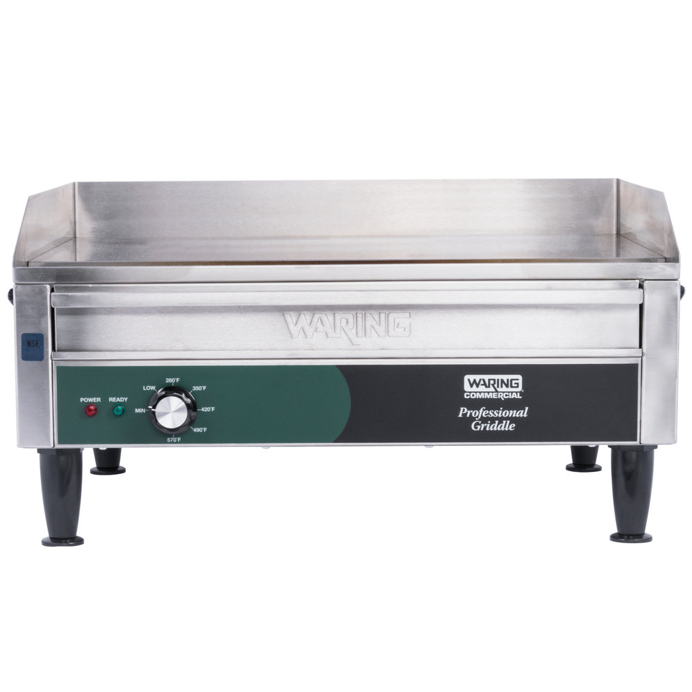 Waring Wgr240 Electric Countertop Griddle 28 Quot 240v