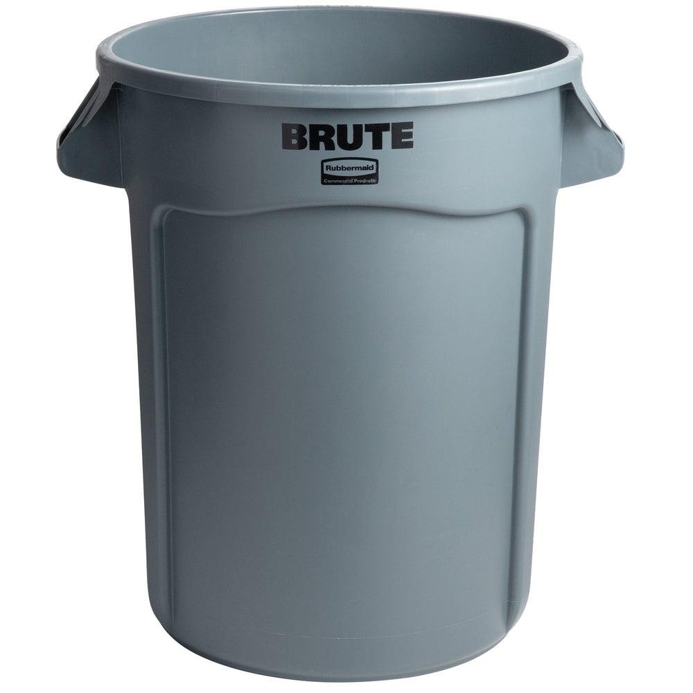 32 Gallon Trash Can | Rubbermaid FG263200GRAY BRUTE 32 Gallon Gray Trash Can