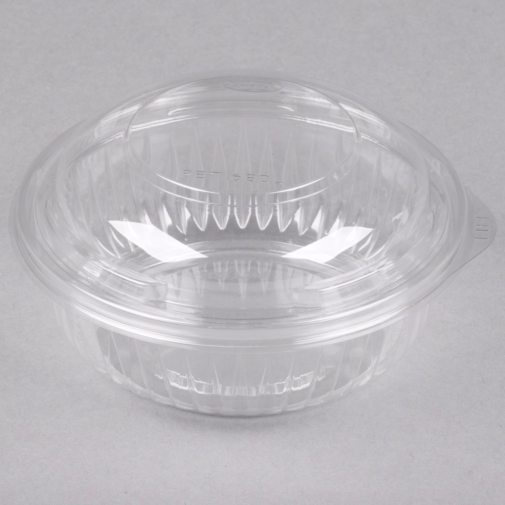 Dart Pet12bcd Presentabowls 12 Oz Clear Plastic Bowl With