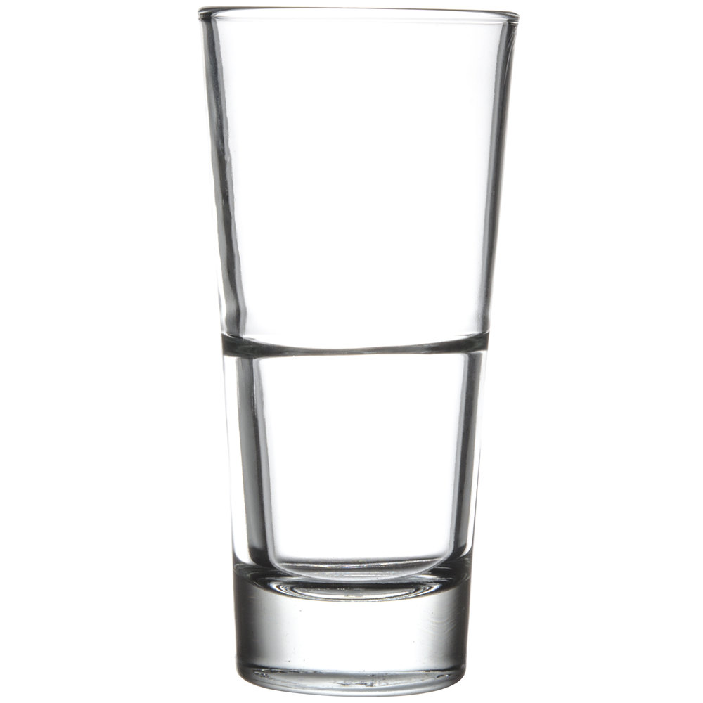 Libbey 15714 Endeavor 14 oz. Stackable Beverage Glass - 12/Case
