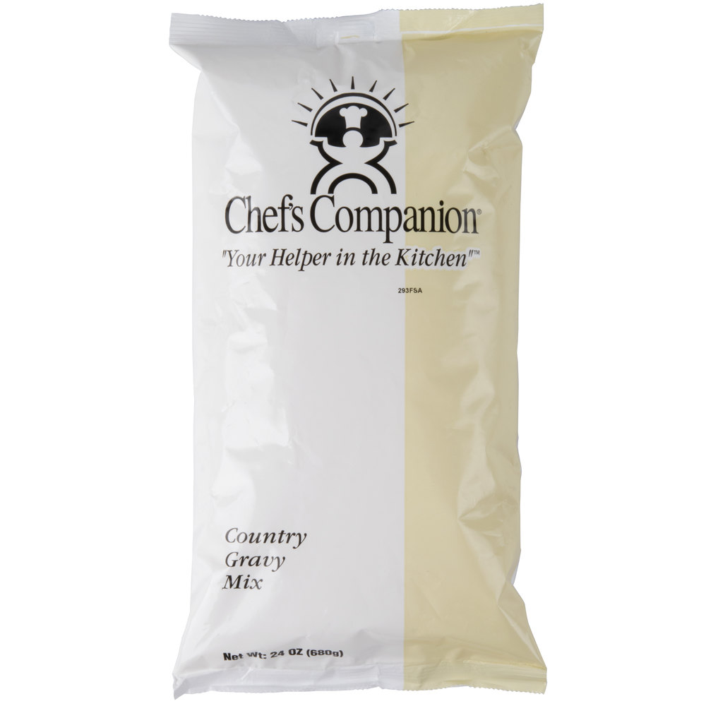 Chef's Companion 15 oz. Country Gravy Mix - 8/Case