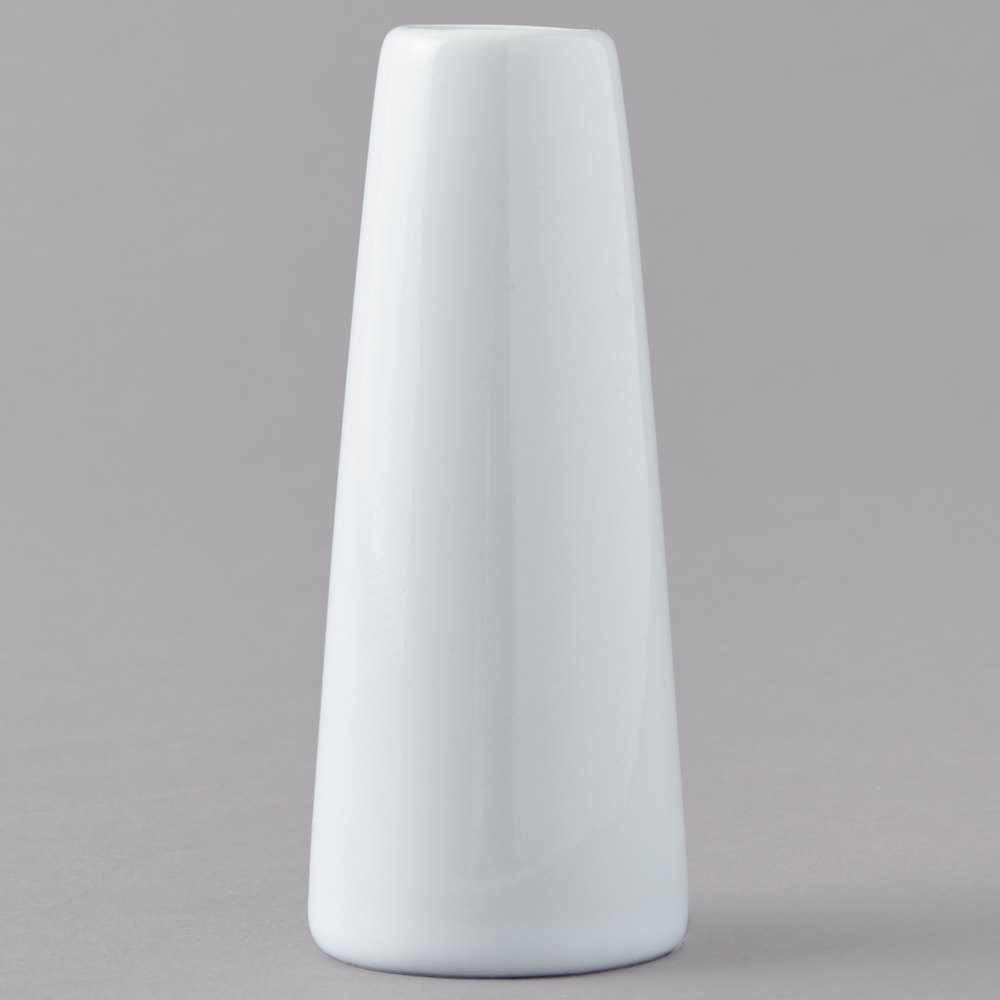 American metalcraft bvtg6 1 12 x 4 white ceramic tower vase main picture reviewsmspy