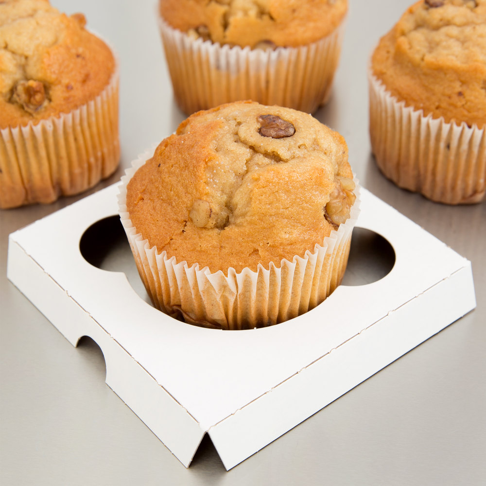 Cupcake / Muffin Insert - Holds 1 Muffin or Jumbo Cupcake - 200 / Case