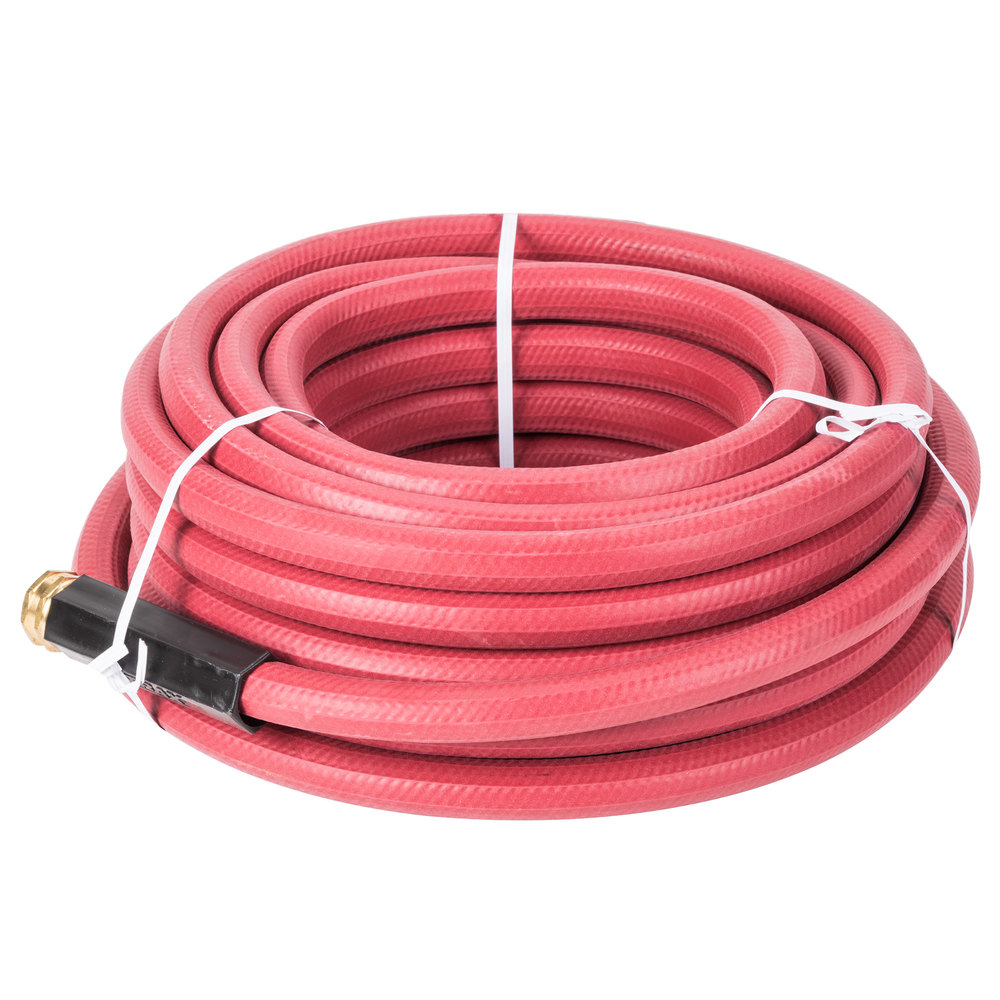 Teknor Apex T43S5050RD 50' Red Commercial Hot Water Hose