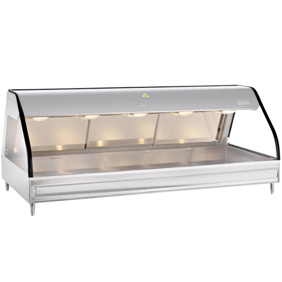 Alto-Shaam ED2 72 S/S Stainless Steel Heated Display Case with ...