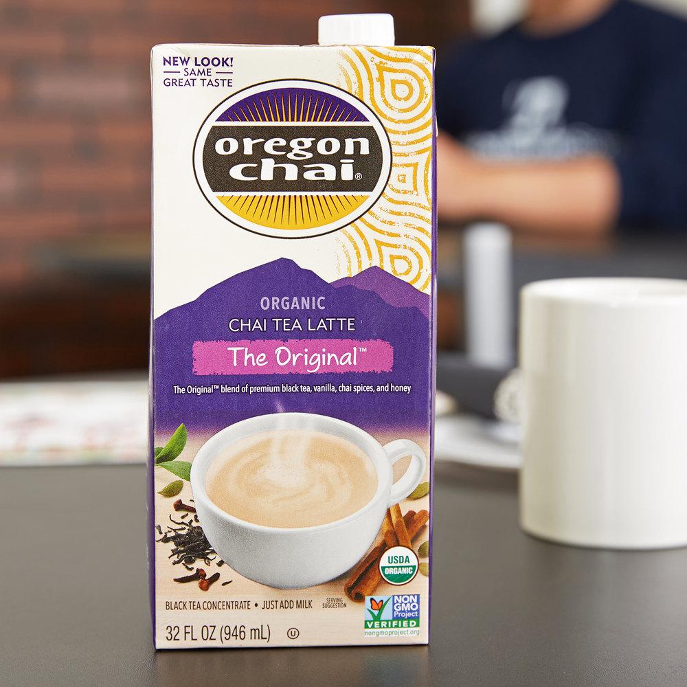 oregon chai organic chai tea latte concentrate 32 oz. Black Bedroom Furniture Sets. Home Design Ideas