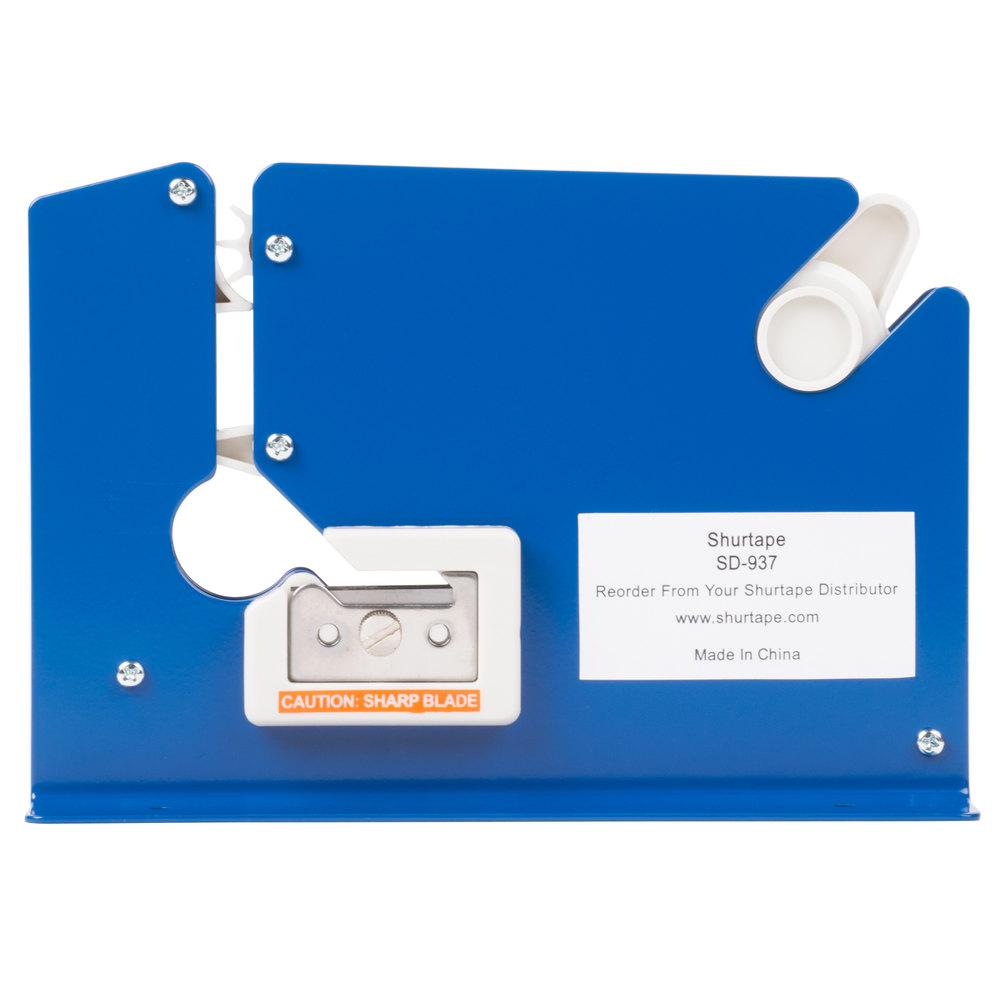 Plastic bag tape sealer - Poly Bag Sealer Tape Dispenser