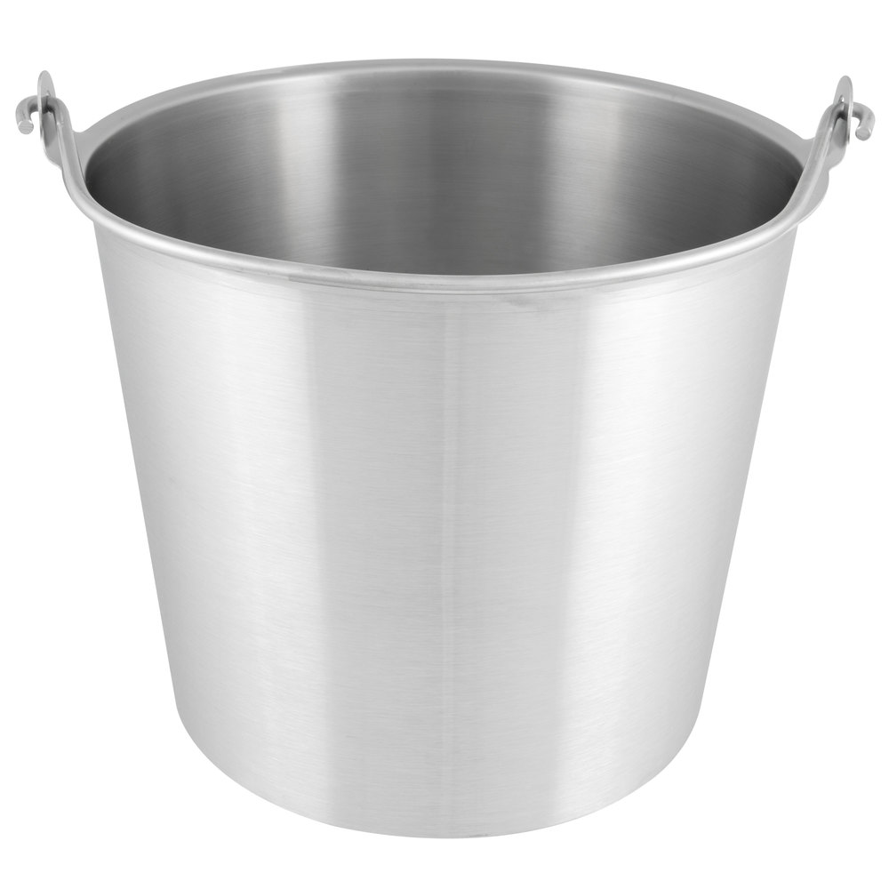 Vollrath 58161 14 75 Qt Stainless Steel Dairy Pail With