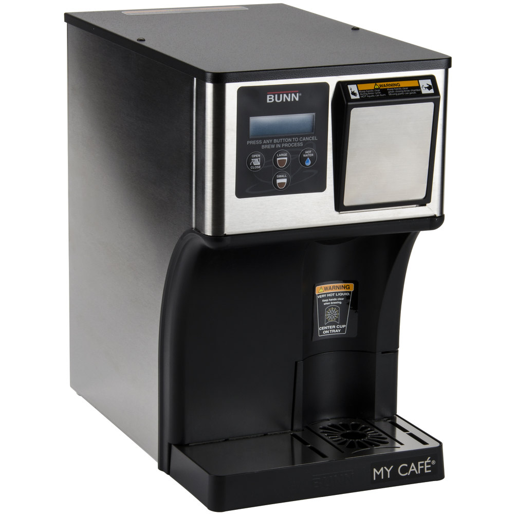 Bunn Coffee Maker Dealers : Bunn 42300.0000 AP My Cafe AutoPOD Automatic Commercial Pod Brewer with Auto Eject Pod Disposal