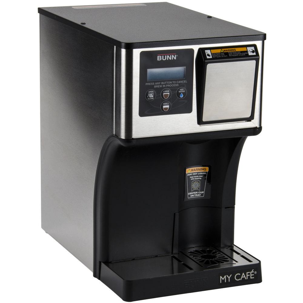 bunn ap my cafe autopod automatic commercial. Black Bedroom Furniture Sets. Home Design Ideas
