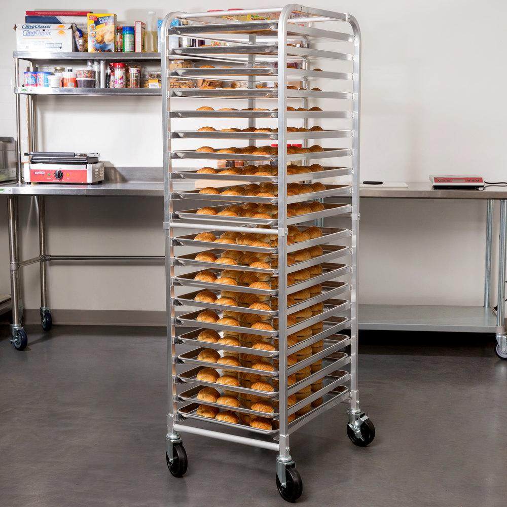 Regency 20 Pan End Load Bun Sheet Pan Rack Unassembled