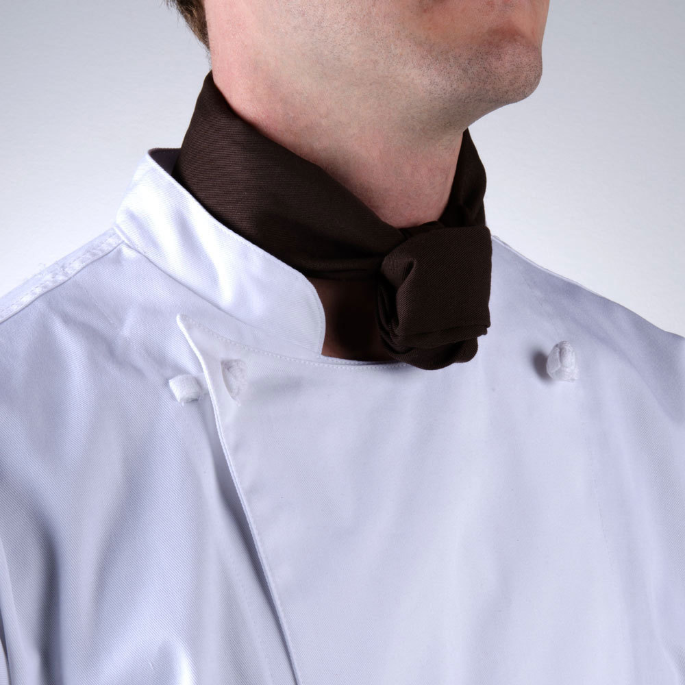 "37"" x 14"" Brown Neckerchief / Bandana"