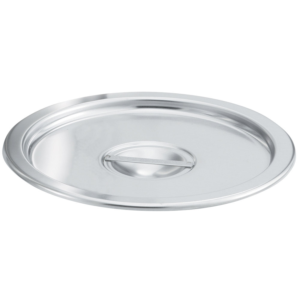 Vollrath 77112 Replacement Solid Cover for 77110 Stainless Steel Double Boiler Set