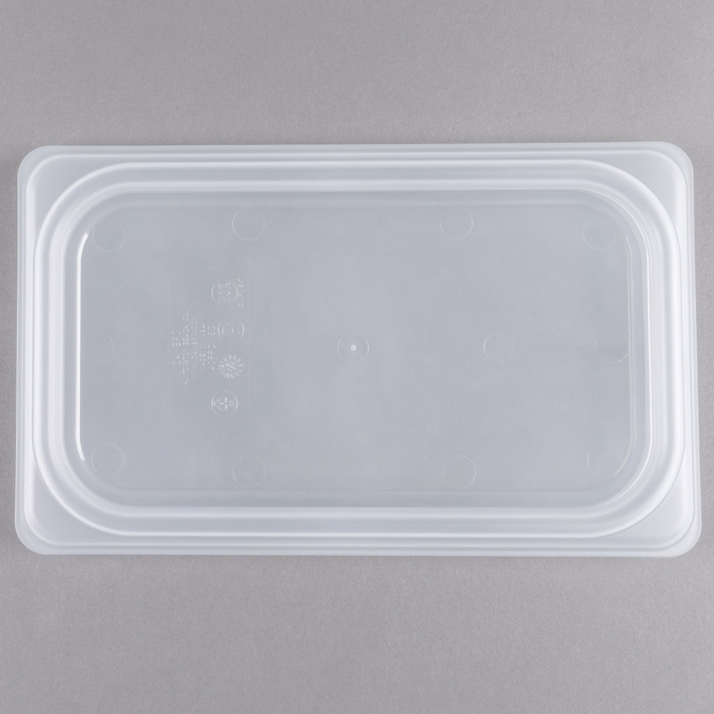 Cambro 40PPCWSC190 Camwear 1/4 Size Translucent Seal Cover