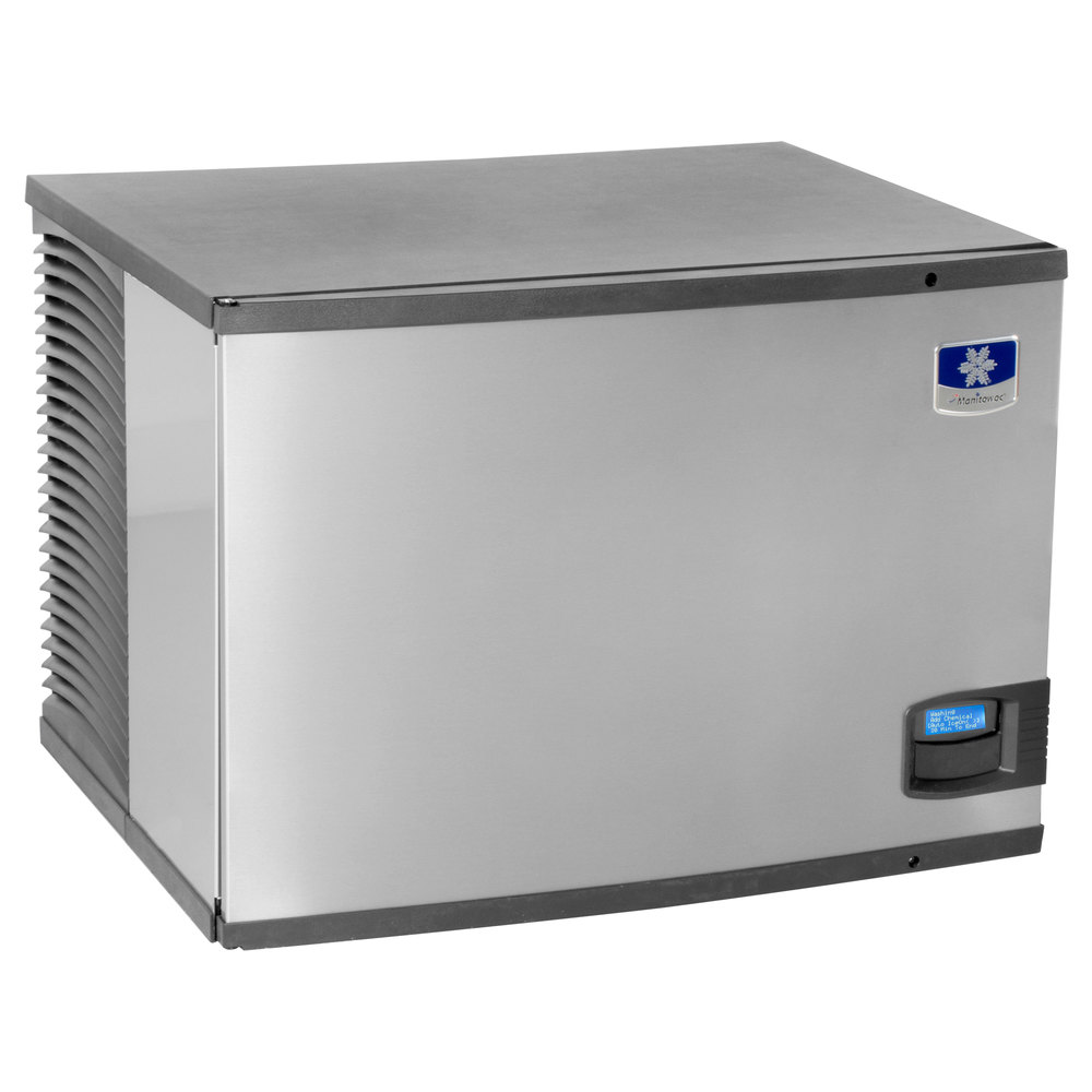"Manitowoc IY-0606A Indigo Series 30"" Air Cooled Half Size Cube Ice Machine - 635 lb."