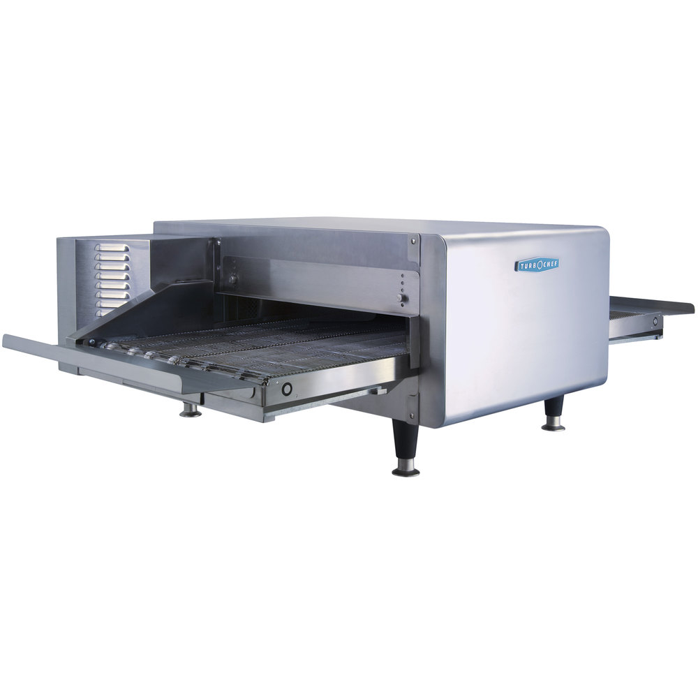 "TurboChef HHC2020 48"" High h Ventless Conveyor Oven - 50/50 Split Belt"