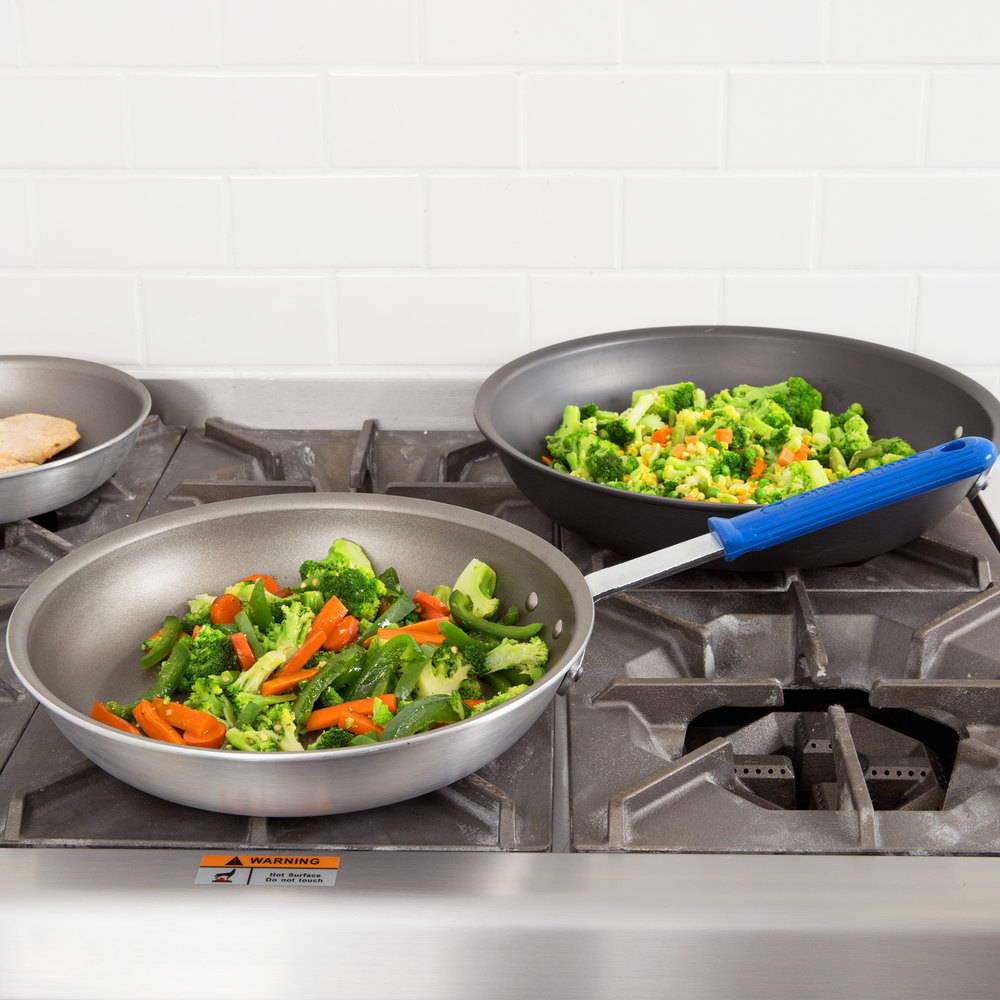 "Vollrath S4012 Wear-Ever 12"" Non-Stick Fry Pan with PowerCoat2 and Cool Handle"
