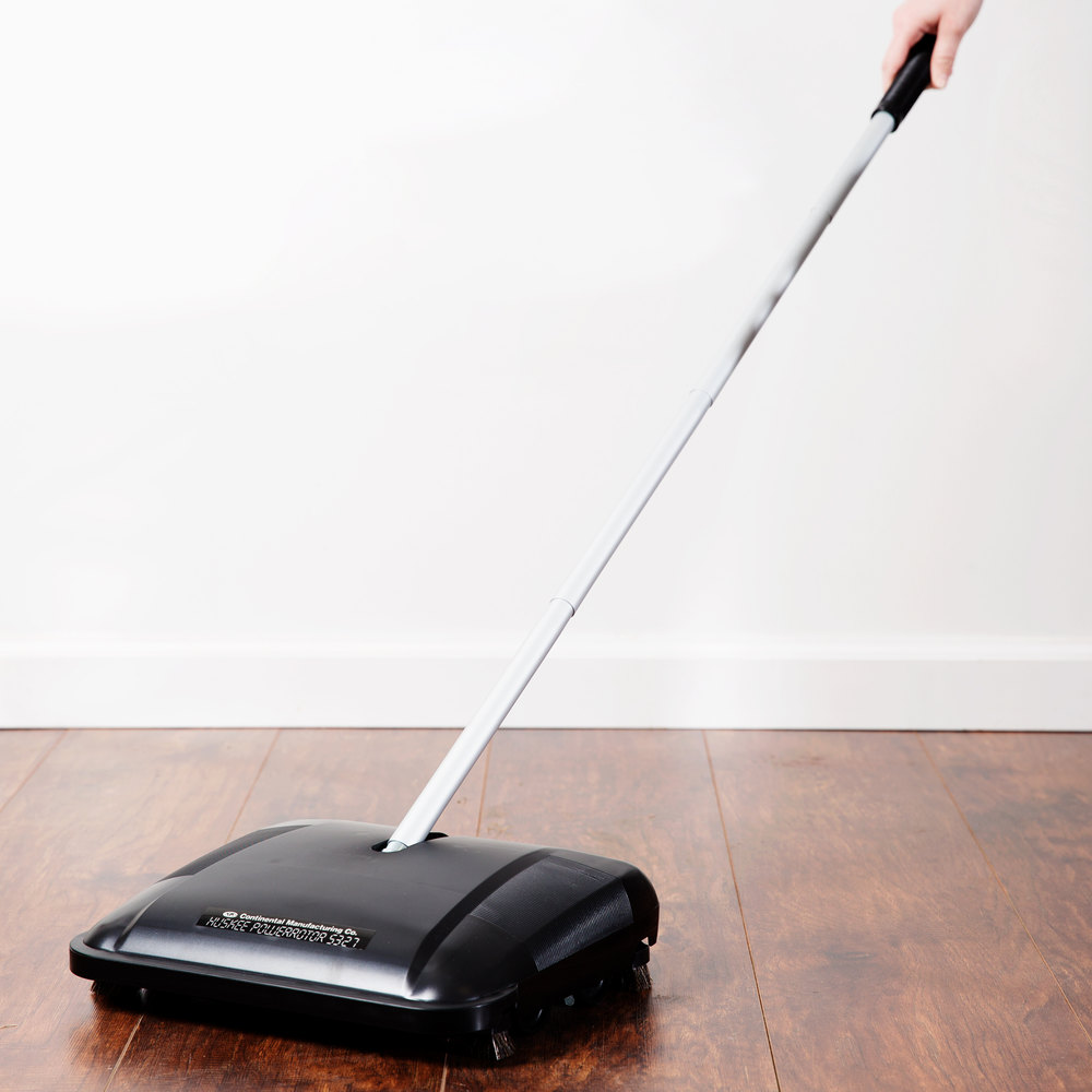 "Continental 5327 Huskee PowerRotor 12 1/2"" Brushless Floor Sweeper"