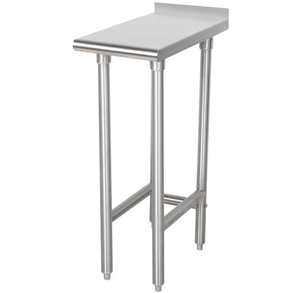 advance tabco tfms 122 12 x 24 equipment filler table