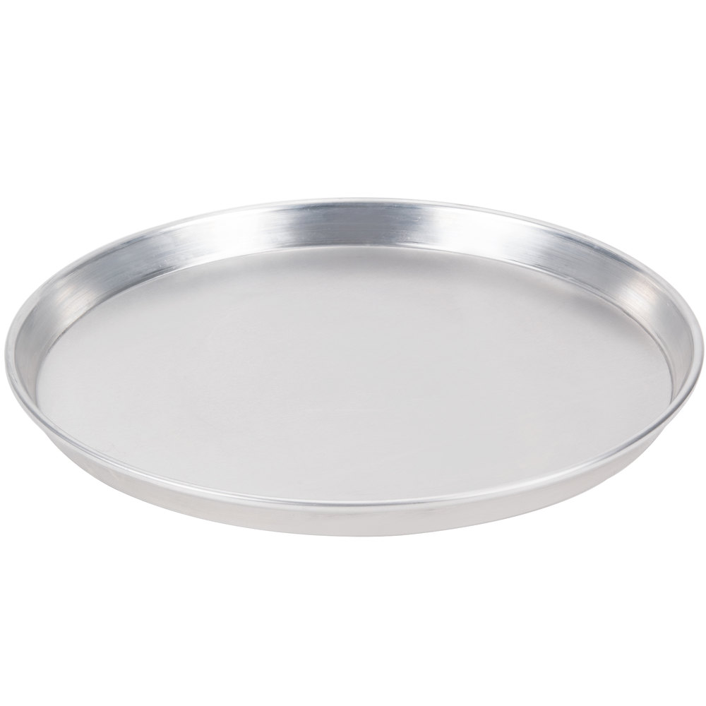 "American Metalcraft HADEP10 10"" x 1"" Deep Dish Tapered Pizza Pan - Heavy Weight Aluminum"