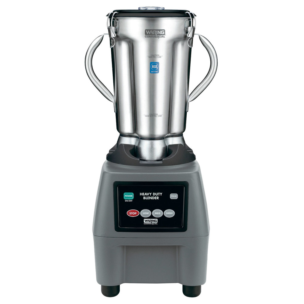 Waring CB15 1 Gallon Stainless Steel Food Blender