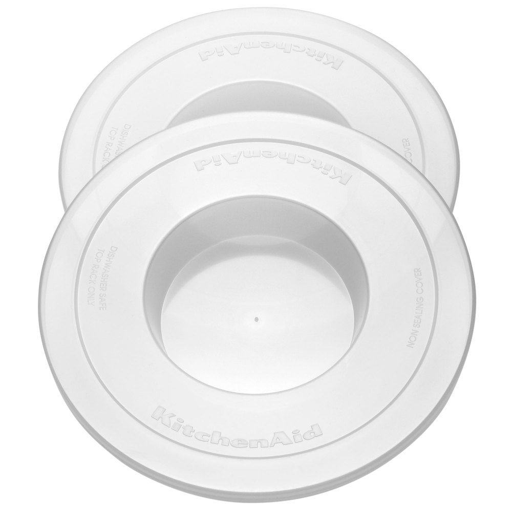 KitchenAid KNBC Mixer Bowl Cover for KP26M1X and KV25G Stand Mixers - 2/Pack