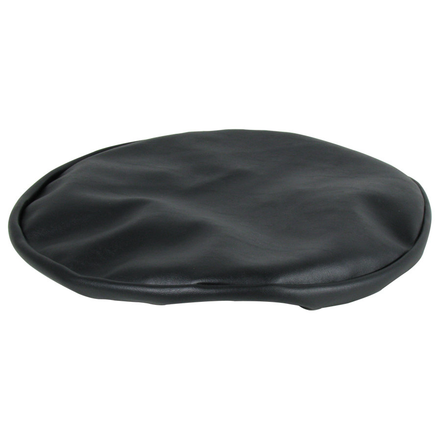 14quot Black Vinyl Bar Stool Seat Cover : 106422 from www.webstaurantstore.com size 900 x 900 jpeg 31kB