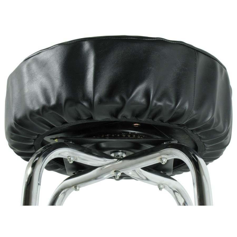 14quot Black Vinyl Bar Stool Seat Cover : 106423 from www.webstaurantstore.com size 900 x 900 jpeg 69kB