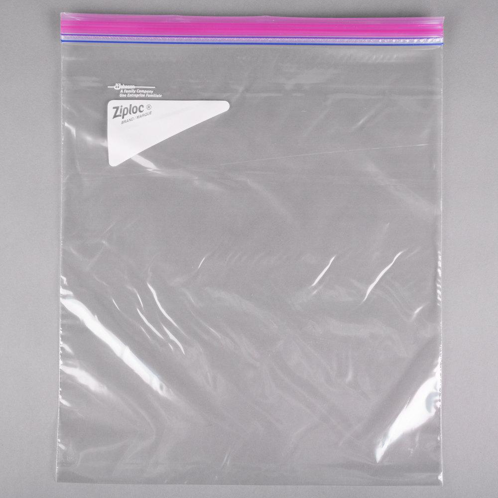 Open Ziploc Bag Open Ziploc Bag