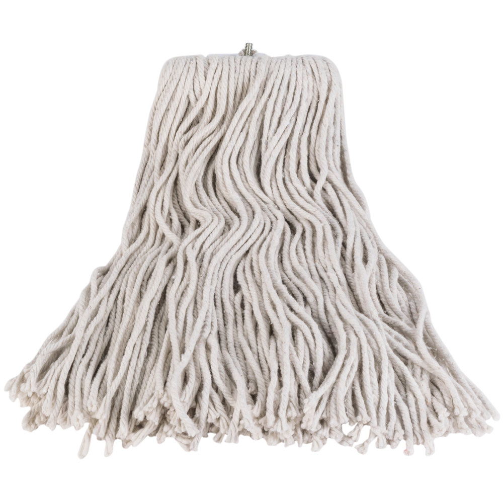 continental a503324 24 oz cut end natural cotton mop head. Black Bedroom Furniture Sets. Home Design Ideas