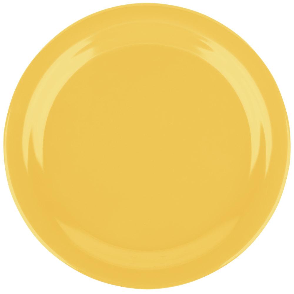 Carlisle 4350122 Dallas Ware 9 Quot Honey Yellow Melamine